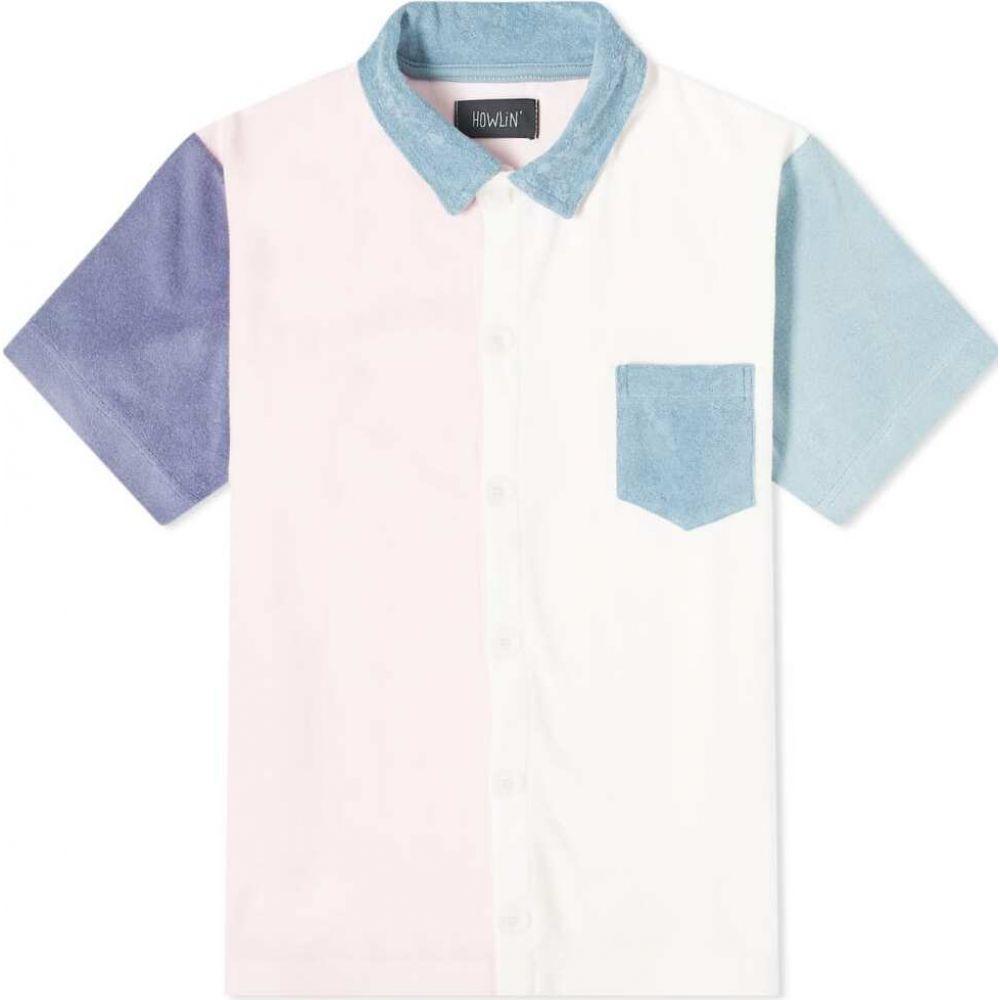 ハウリン Howlin by Morrison メンズ シャツ トップス【Howlin' Crystal Clear Shirt】Light Pink