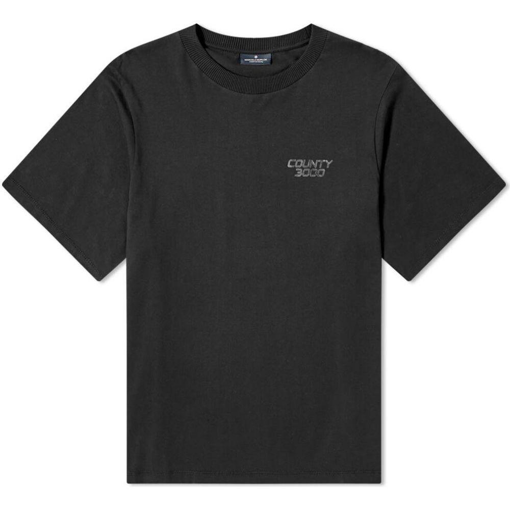 マルセロバーロン Marcelo Burlon メンズ Tシャツ トップス【Exportado Oversized Tee】Black