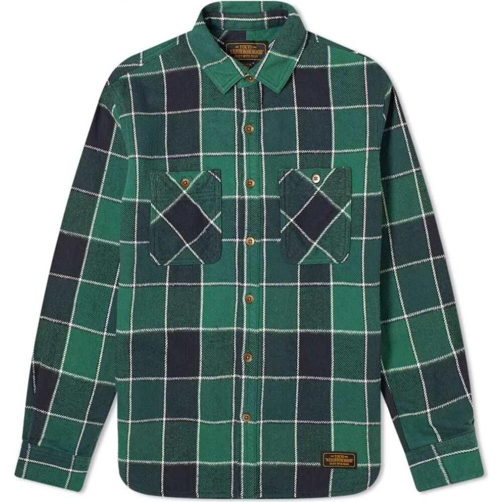 ネイバーフッド Neighborhood メンズ シャツ トップス【Lumbers Shirt】Green