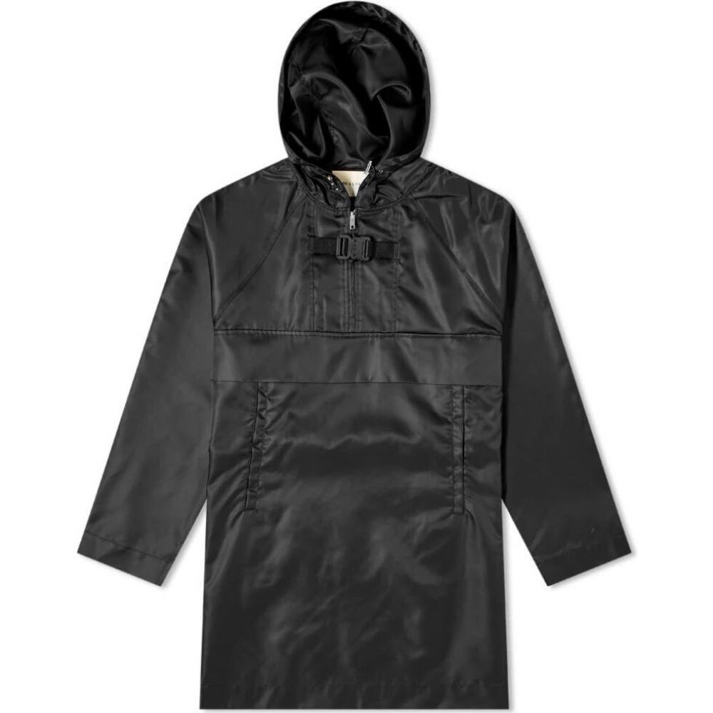 アリクス 1017 ALYX 9SM メンズ ジャケット アウター【Oversized Pullover Jacket】Black