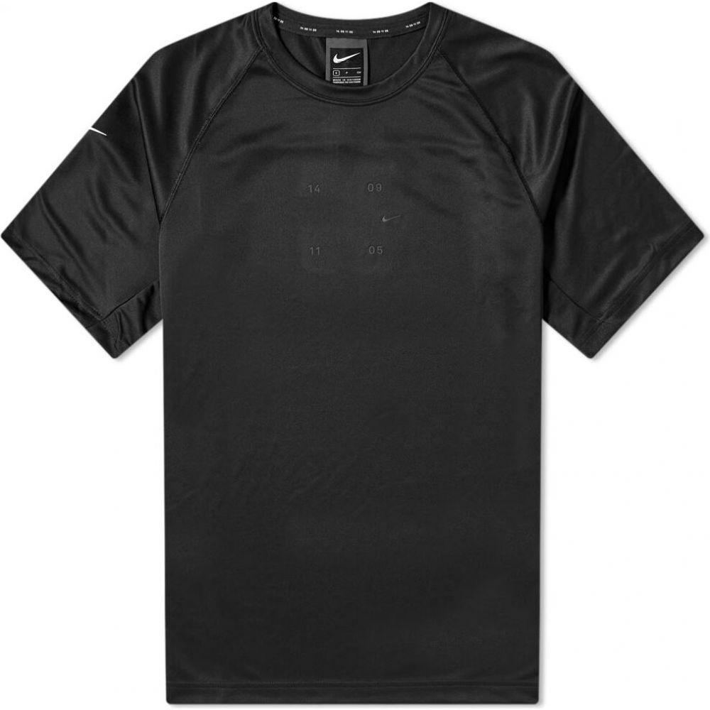 ナイキ メンズ お金を節約 トップス Tシャツ Black White Nike Pack サイズ交換無料 Tee Knitted Tech 人気上昇中