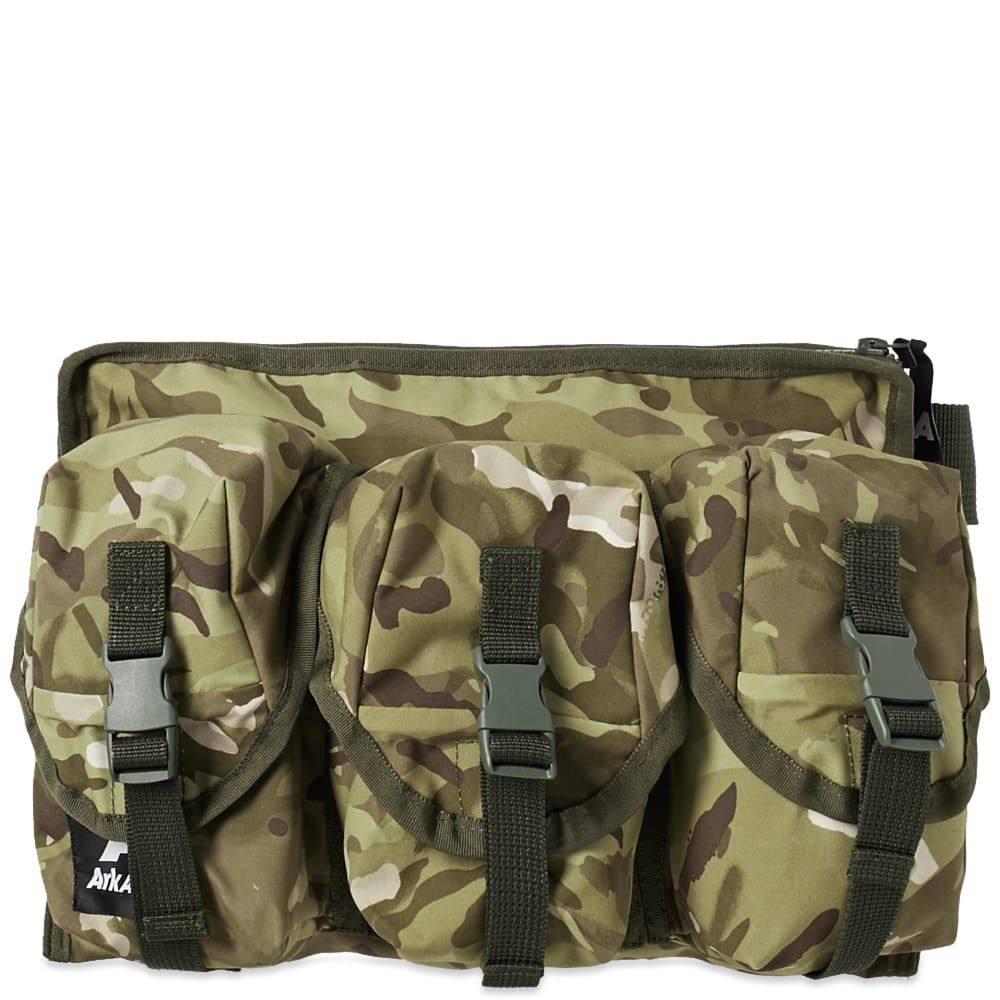 アークエアー Ark Air メンズ ボディバッグ・ウエストポーチ バッグ【3 pocket waist bag】Vista Camo