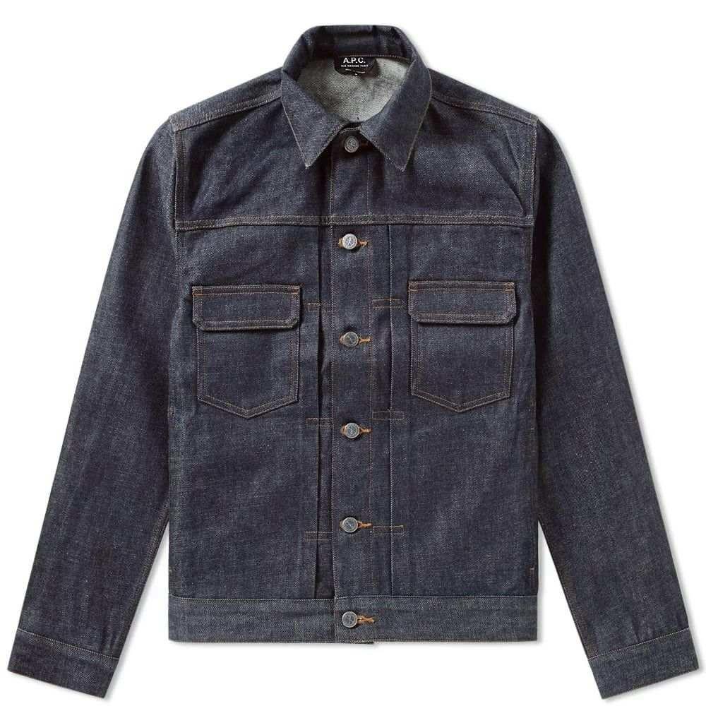 アーペーセー A.P.C. メンズ ジャケット ワークジャケット アウター【work jean jacket】Indigo