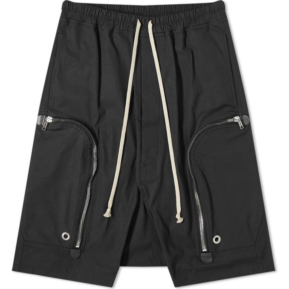 リック オウエンス Rick Owens メンズ ショートパンツ ボトムス・パンツ【Bauhaus Pod Short】Black