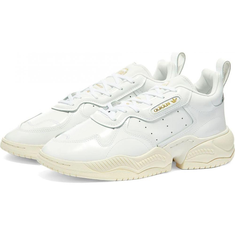 アディダス Adidas レディース スニーカー シューズ・靴【Supercourt RX W】White/Off White
