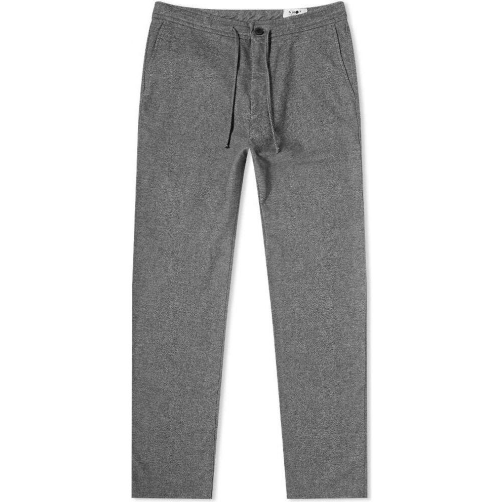 NN07 メンズ スウェット・ジャージ ボトムス・パンツ【Copenhagen Drawstring Pant】Grey Melange
