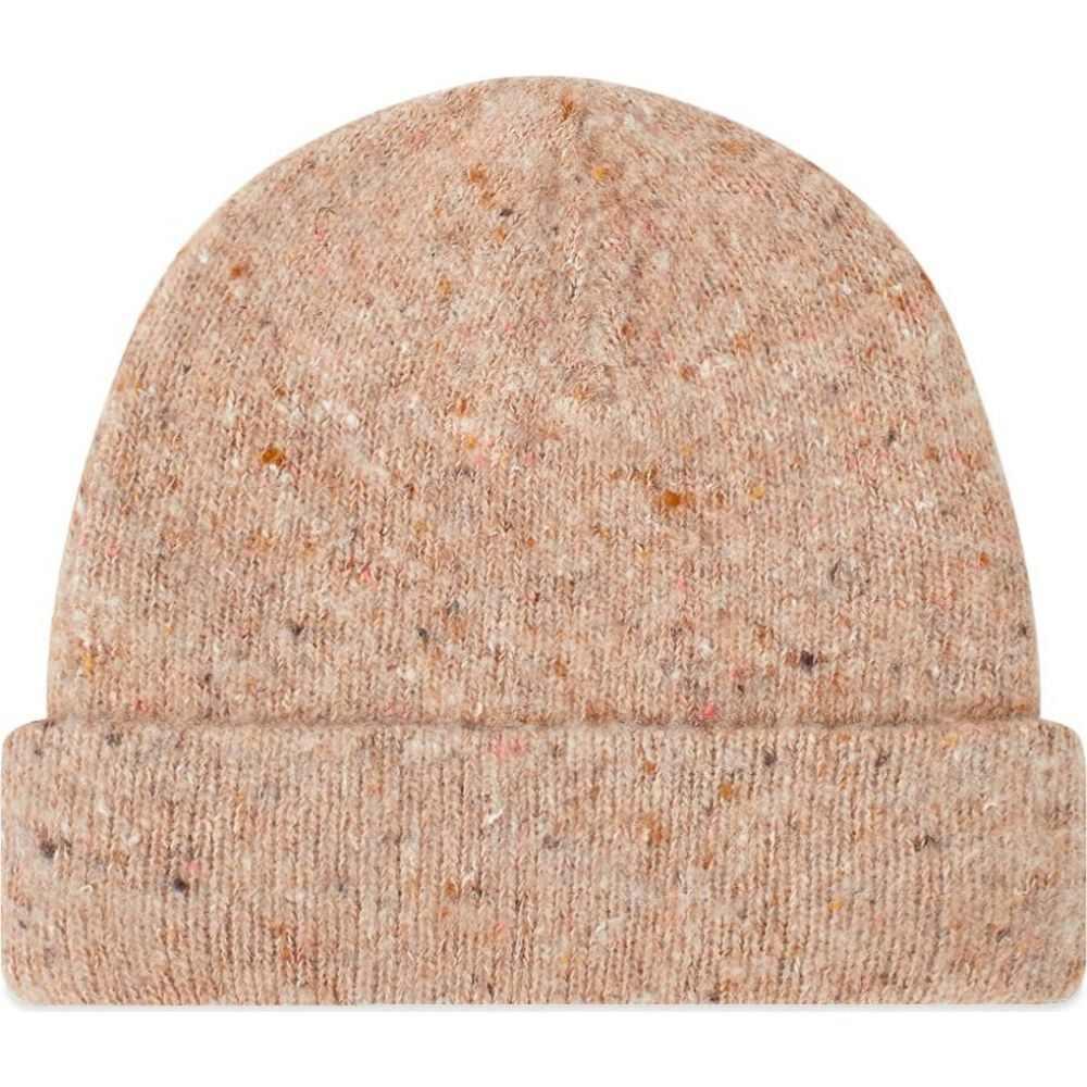 アクネ ストゥディオズ Acne Studios メンズ ニット ビーニー 帽子【Peele Melange Beanie】Brown