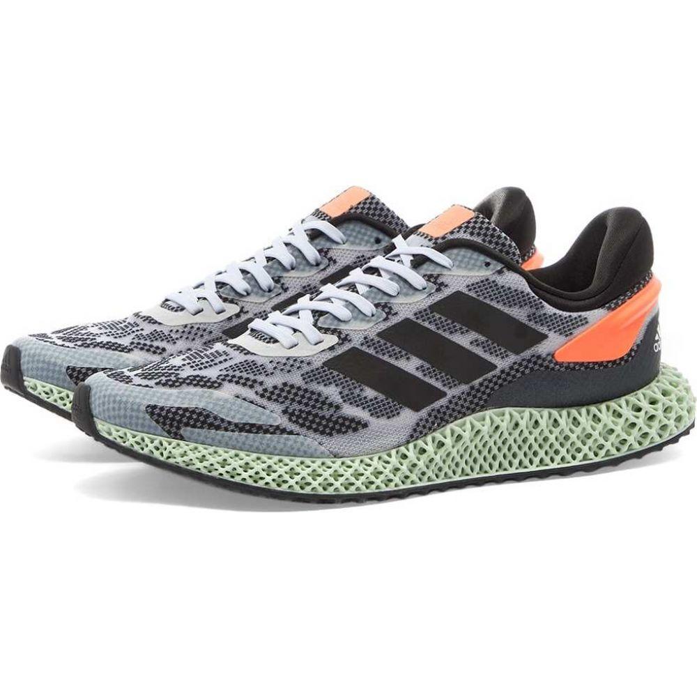 アディダス Adidas メンズ スニーカー シューズ・靴【4D 1.0】White/Black/Coral