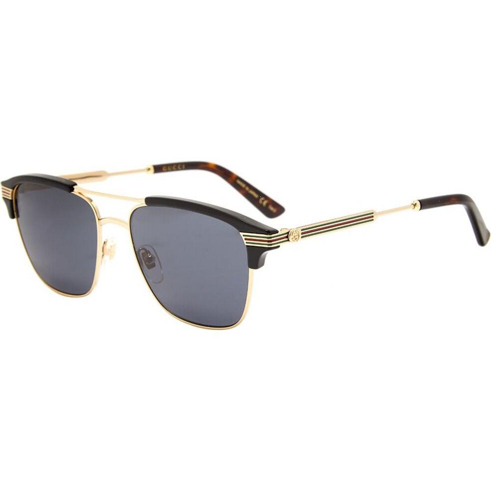 グッチ Gucci Eyewear メンズ メガネ・サングラス 【Gucci Vintage Web Sunglasses】Gold/Grey