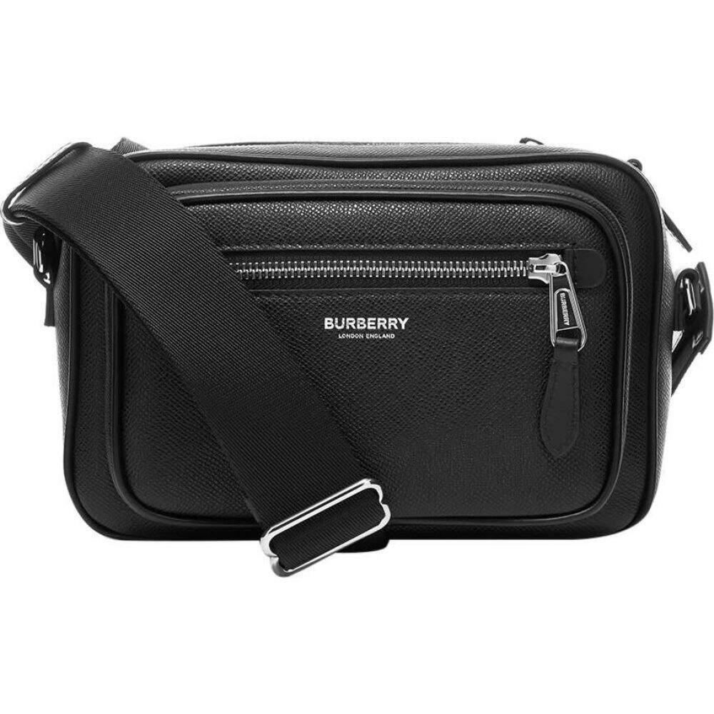 バーバリー Burberry メンズ ショルダーバッグ バッグ【Paddy Leather Shoulder Bag】Black