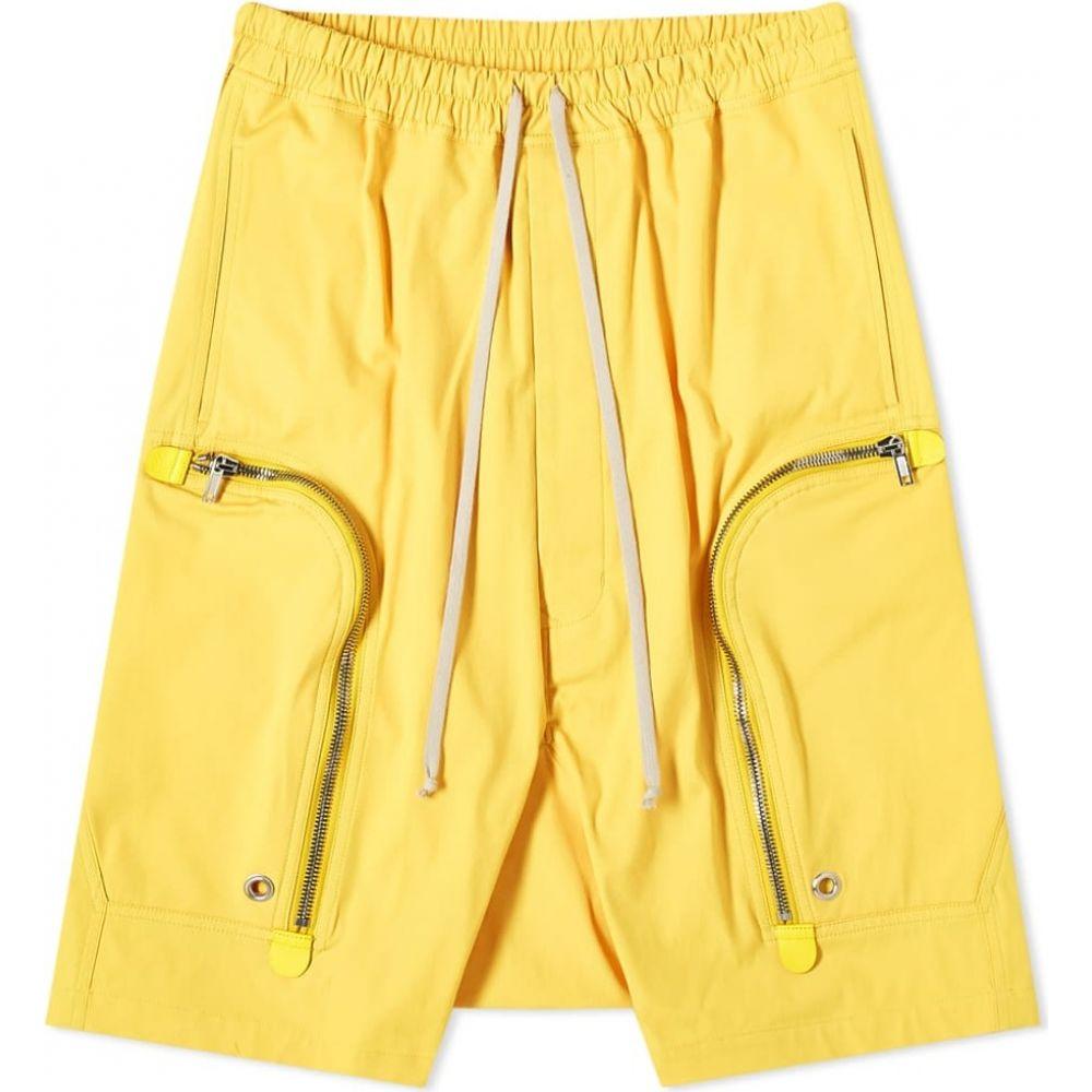 リック オウエンス Rick Owens メンズ ショートパンツ ボトムス・パンツ【Bauhaus Pod Short】Lemon
