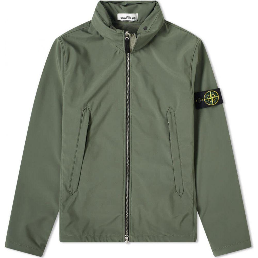 ストーンアイランド Stone Island メンズ ジャケット アウター【Light Soft Shell-R Jacket】Olive