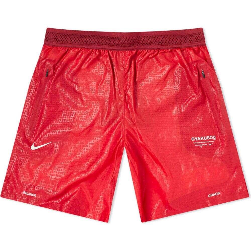 ナイキ Nike メンズ ショートパンツ ボトムス・パンツ【x Undercover Gyakusou Shorts】Gym Red/Tough Red