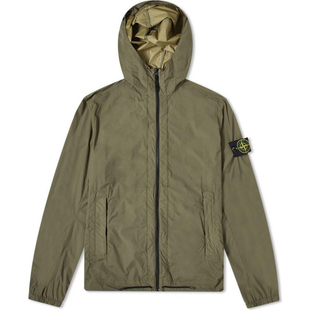 ストーンアイランド Stone Island メンズ ジャケット フード アウター【Skin Touch Hooded Jacket】Olive