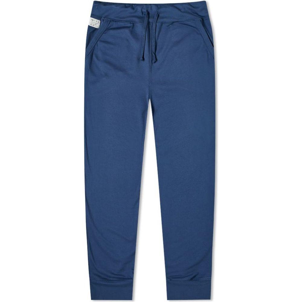 セーブカーキユナイテッド Save Khaki メンズ スウェット・ジャージ ボトムス・パンツ【x New Balance Supima Fleece Field Sweat Pant】Indigo