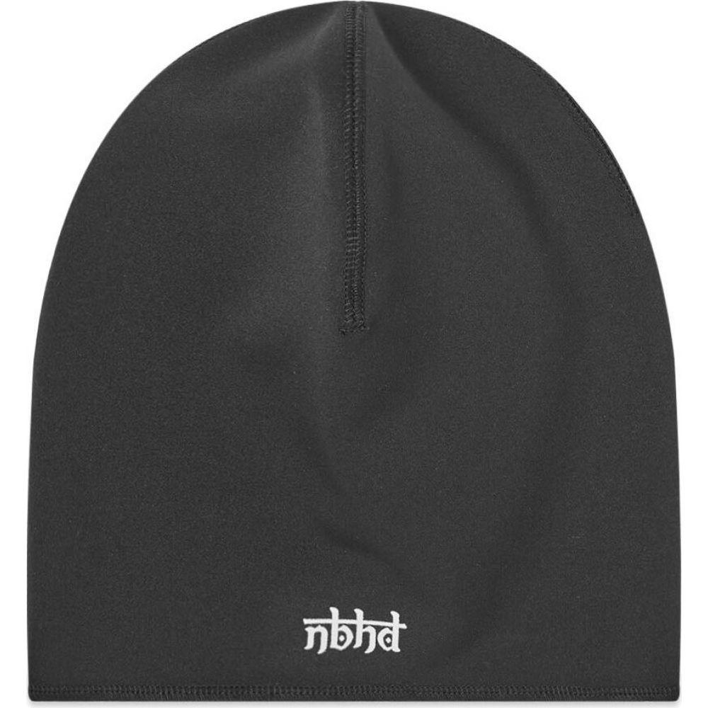 ネイバーフッド Neighborhood メンズ ニット ビーニー 帽子【Beanie Hat】Black