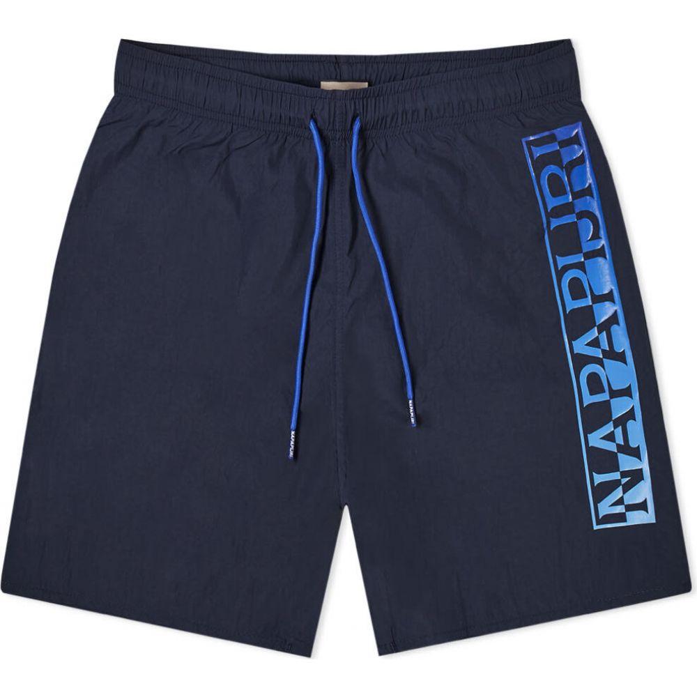 ナパピリ Napapijri メンズ ショートパンツ ボトムス・パンツ【Victor Logo Short】Navy