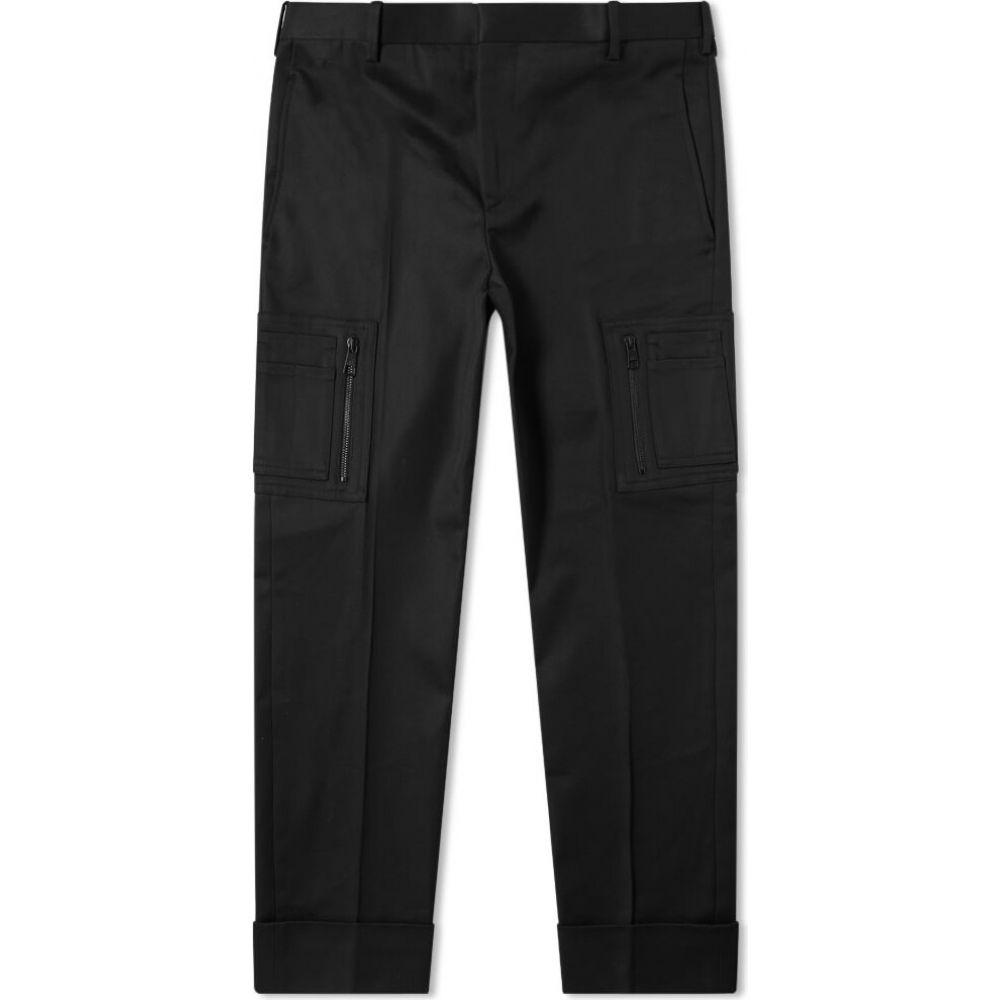 ニール バレット Neil Barrett メンズ カーゴパンツ ボトムス・パンツ【Cotton Zip Cargo Pant】Black