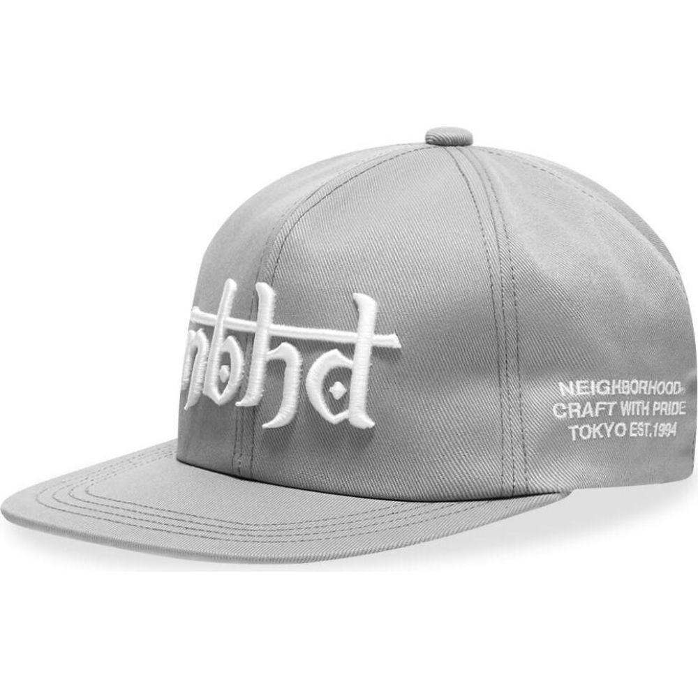 ネイバーフッド Neighborhood メンズ キャップ 帽子【B.B Cap】Grey