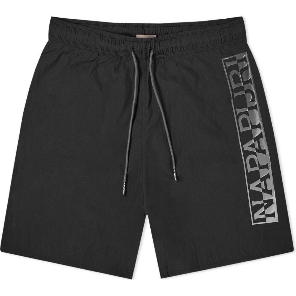 ナパピリ Napapijri メンズ ショートパンツ ボトムス・パンツ【Victor Logo Short】Black