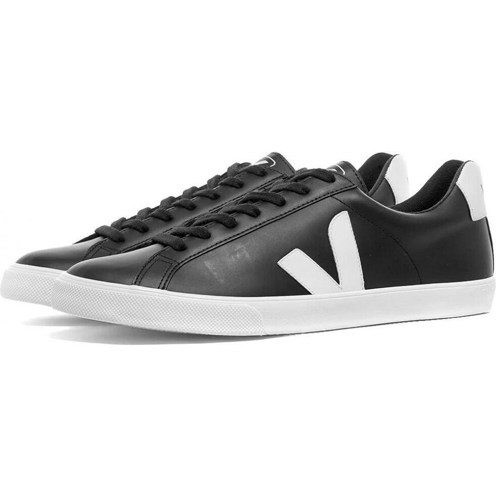 ヴェジャ Veja メンズ スニーカー シューズ・靴【Esplar Clean Leather Sneaker】Black/White