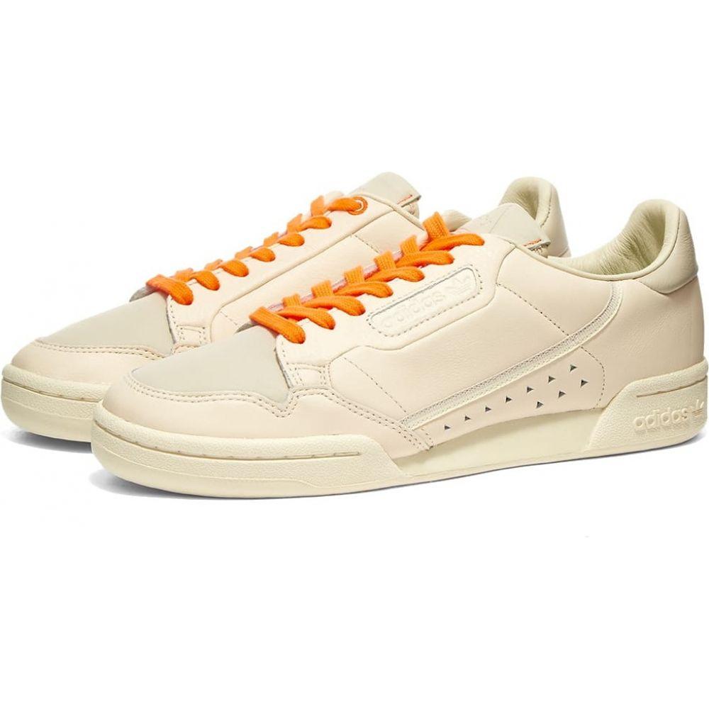 アディダス Adidas メンズ スニーカー シューズ・靴【x Pharrell Williams Continental 80】Ecru Tint