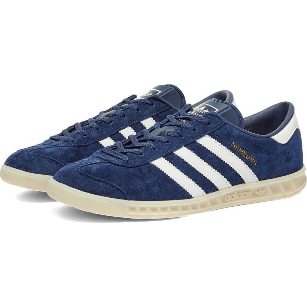 アディダス Adidas メンズ スニーカー シューズ・靴【Hamburg】Marine/White/Off White