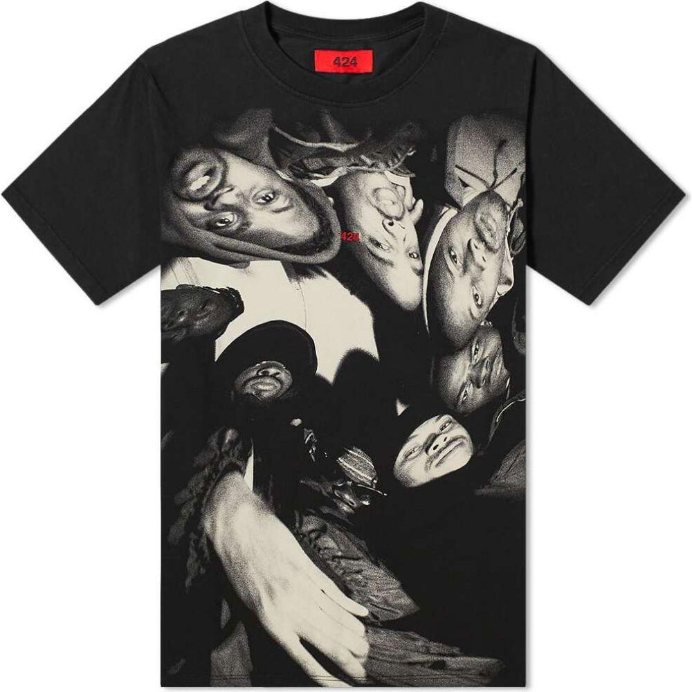フォートゥーフォー 424 メンズ Tシャツ トップス【Wu-Tang Tee】Black