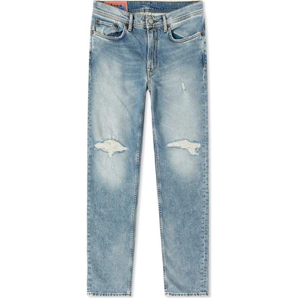 アクネ ストゥディオズ Acne Studios メンズ ジーンズ・デニム ボトムス・パンツ【Patched North Jean】Light Blue