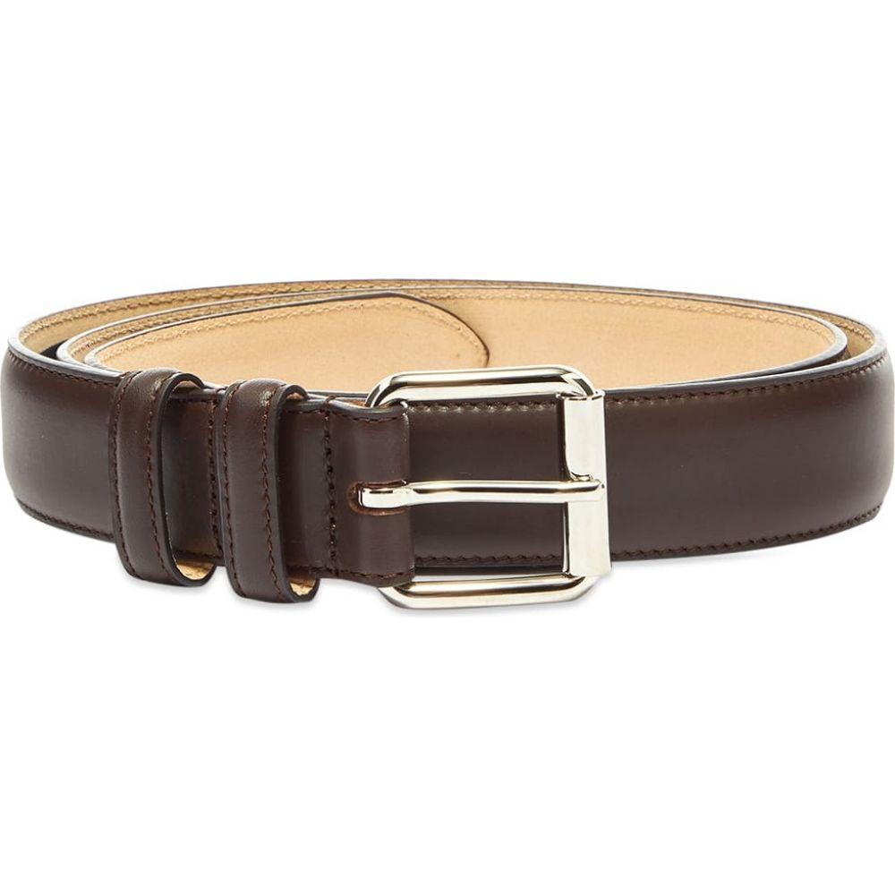 アーペーセー A.P.C. メンズ ベルト 【Classic Paris Belt】Dark Brown