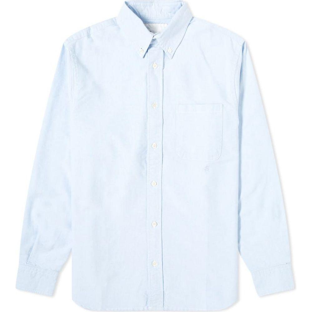 アドサム Adsum メンズ シャツ トップス【Monogram Oxford Shirt】Sky Blue