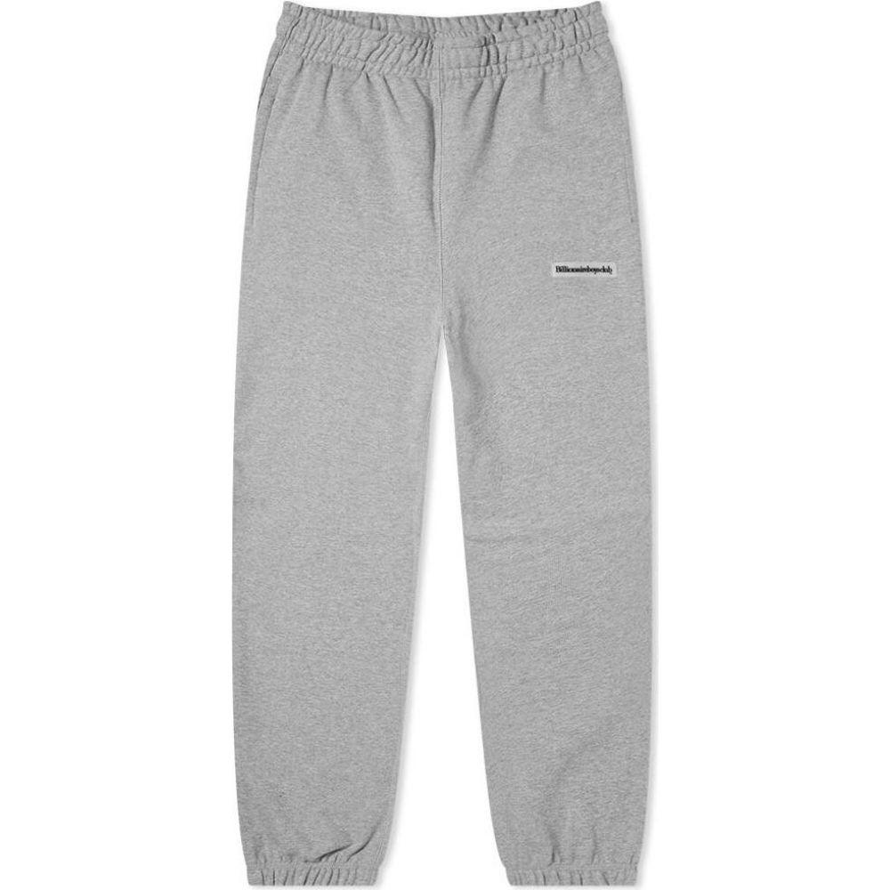 ビリオネアボーイズクラブ Billionaire Boys Club メンズ スウェット・ジャージ ボトムス・パンツ【Rubber Patch Sweat Pant】Grey