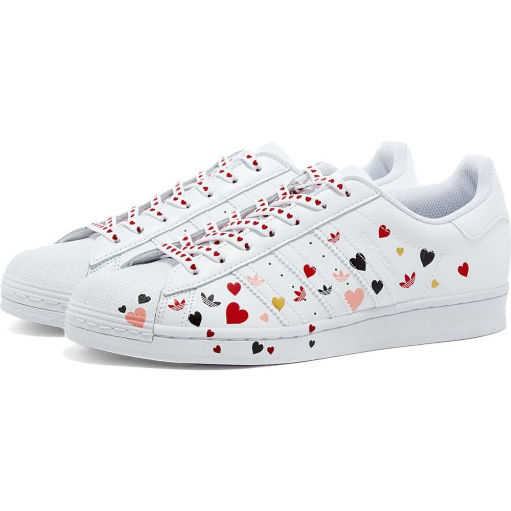 アディダス Adidas レディース スニーカー シューズ・靴【Superstar W】White/Black/Pink