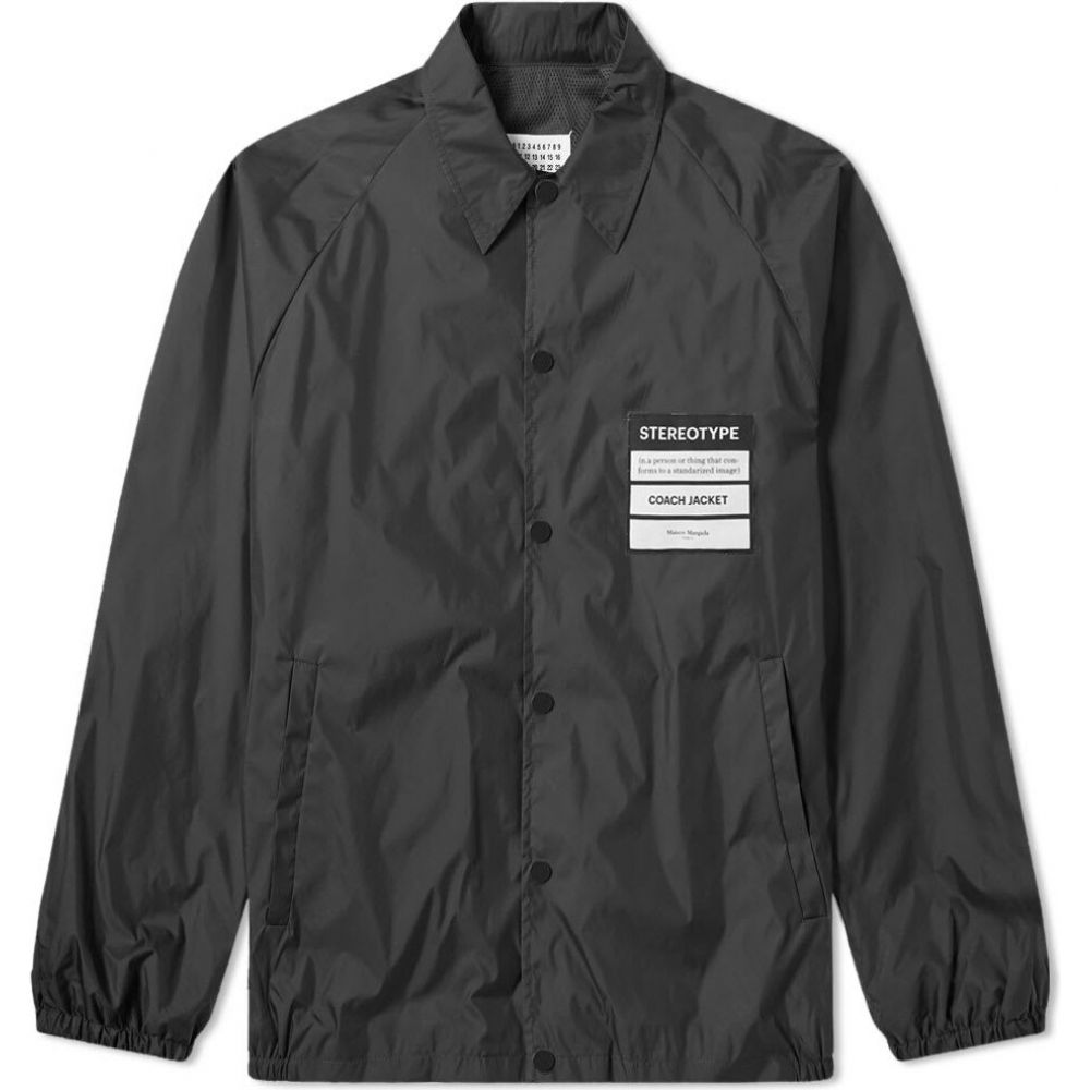 メゾン マルジェラ Maison Margiela メンズ ジャケット コーチジャケット アウター【14 stereotype coach jacket】Black