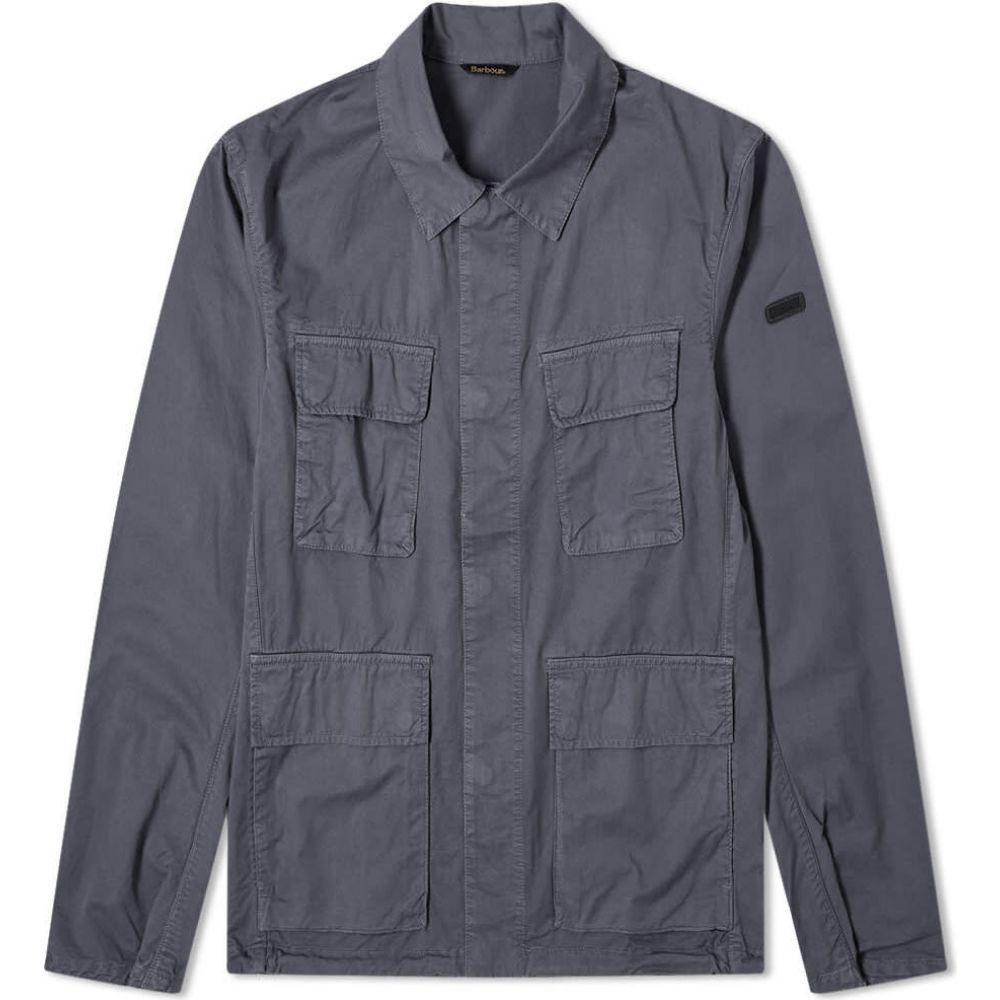 バブアー Barbour メンズ ジャケット シャツジャケット アウター【international dion casual shirt jacket】Dusk Grey