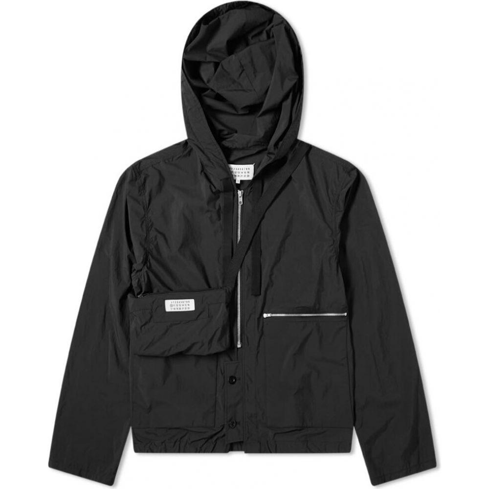 メゾン マルジェラ Maison Margiela メンズ ジャケット ウィンドブレーカー アウター【14 packable nylon windbreaker】Black
