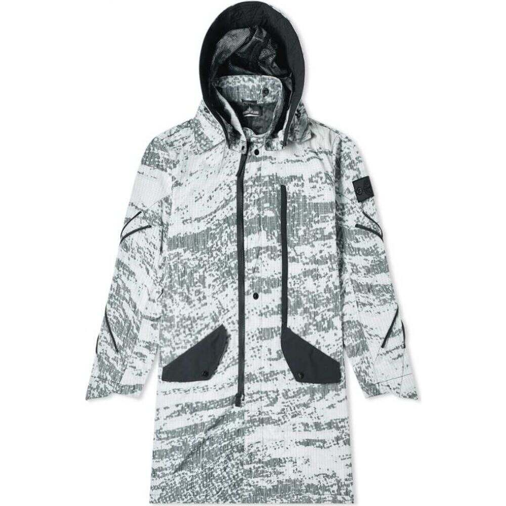 ストーンアイランド Stone Island Shadow Project メンズ コート フード アウター【dpm marl detachable hooded long parka】Grey