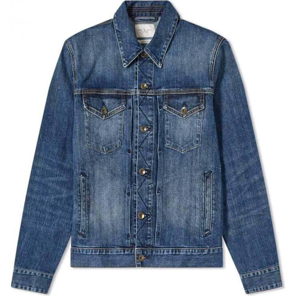 ラグ&ボーン Rag & Bone メンズ ジャケット アウター【definitive jean jacket】Blue