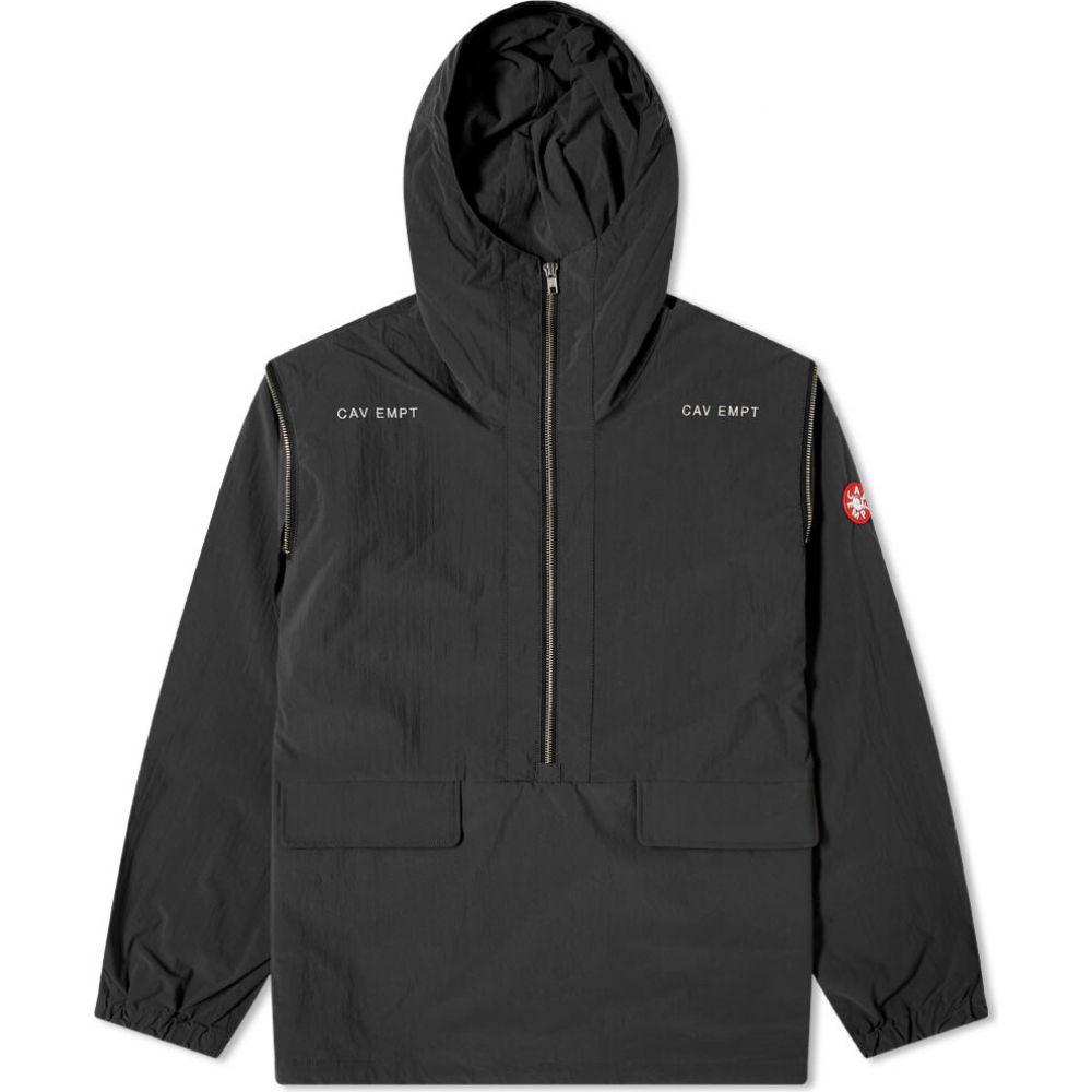 シーイー Cav Empt メンズ ジャケット アウター【concealed sleeve popover jacket】Black