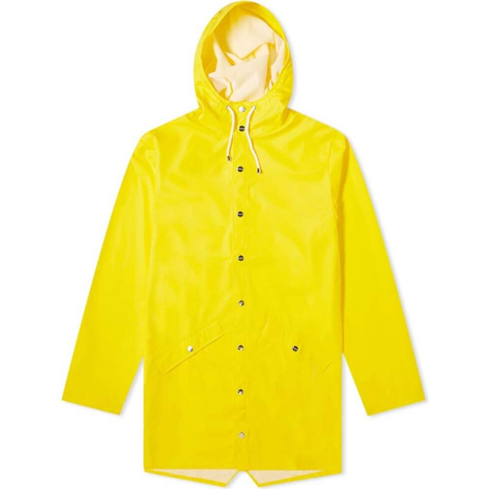レインズ Rains メンズ ジャケット アウター【long jacket】Yellow