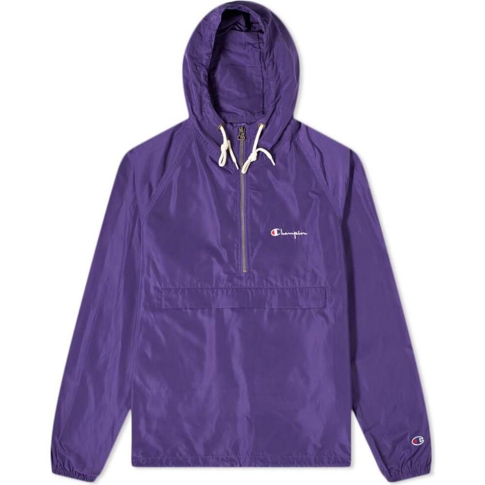 <title>チャンピオン メンズ アウター ジャケット Purple サイズ交換無料 Champion 今ダケ送料無料 Reverse Weave smock jacket</title>
