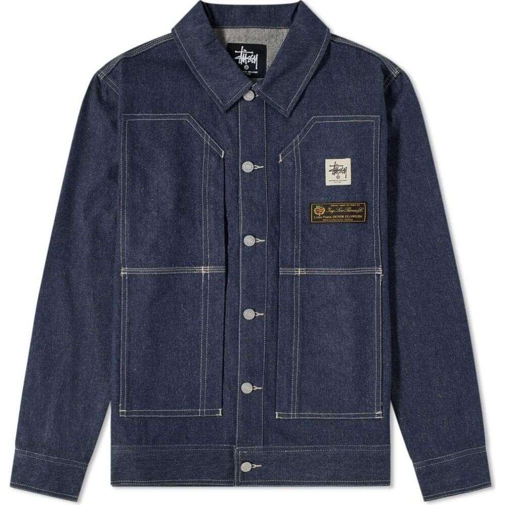 アリクス 1017 ALYX 9SM メンズ ジャケット Gジャン アウター【x stussy denim jacket】Denim Blue