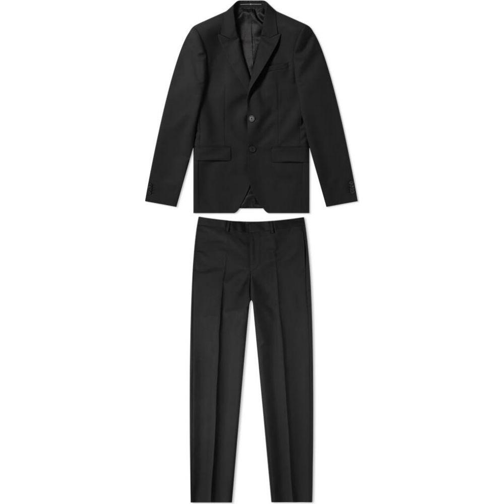 ジバンシー Givenchy メンズ スーツ・ジャケット アウター【single breasted wool mohair suit】Black
