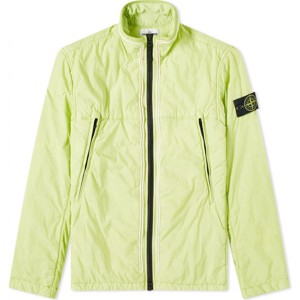 ストーンアイランド Stone Island メンズ ジャケット アウター【garment dyed crinkle reps ny piping jacket】Pistachio