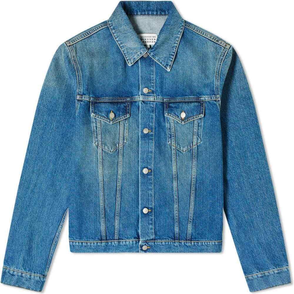 メゾン マルジェラ Maison Margiela メンズ ジャケット Gジャン アウター【10 vintage wash denim jacket】Medium Indigo