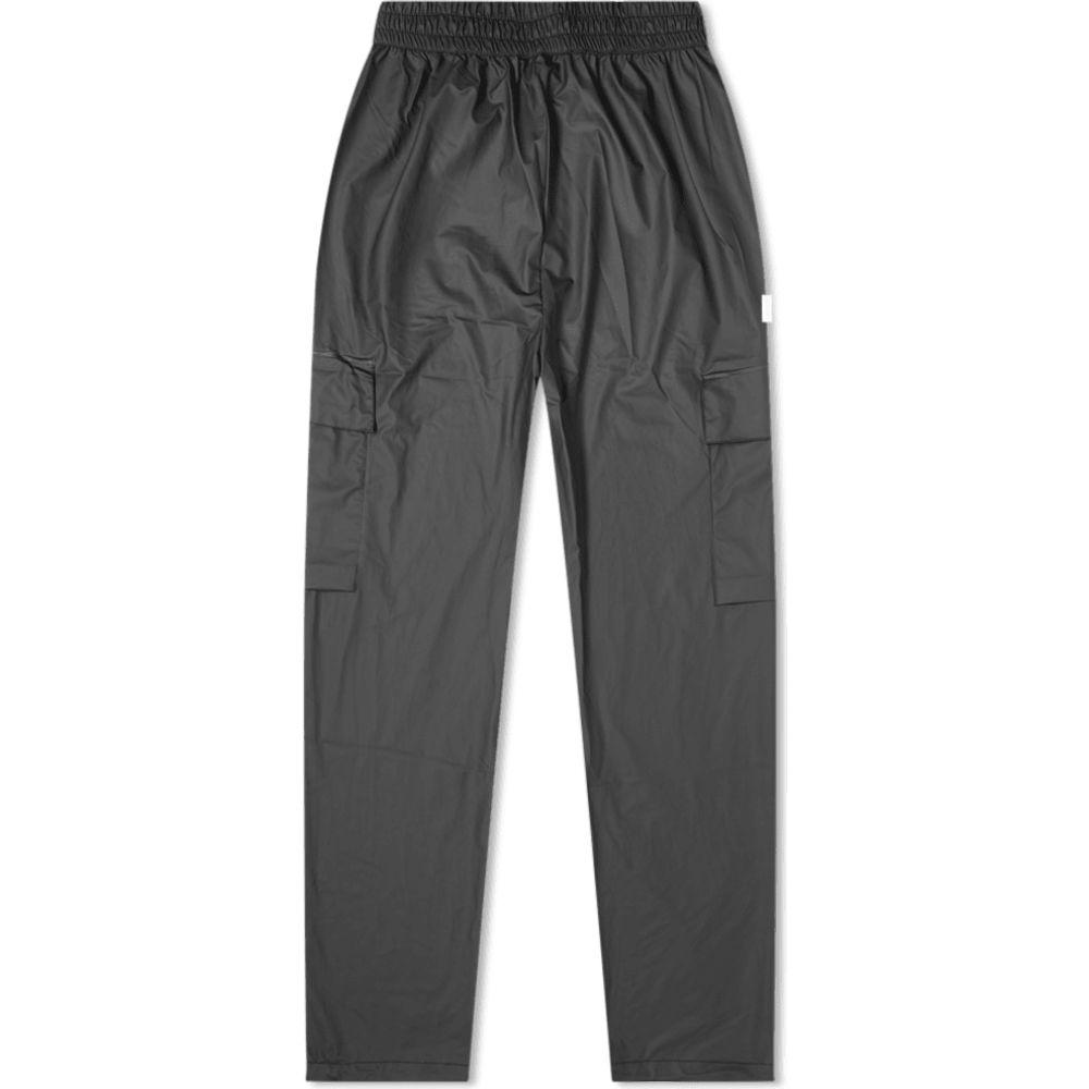 レインズ Rains メンズ カーゴパンツ ボトムス・パンツ【ultralight cargo pant】Black