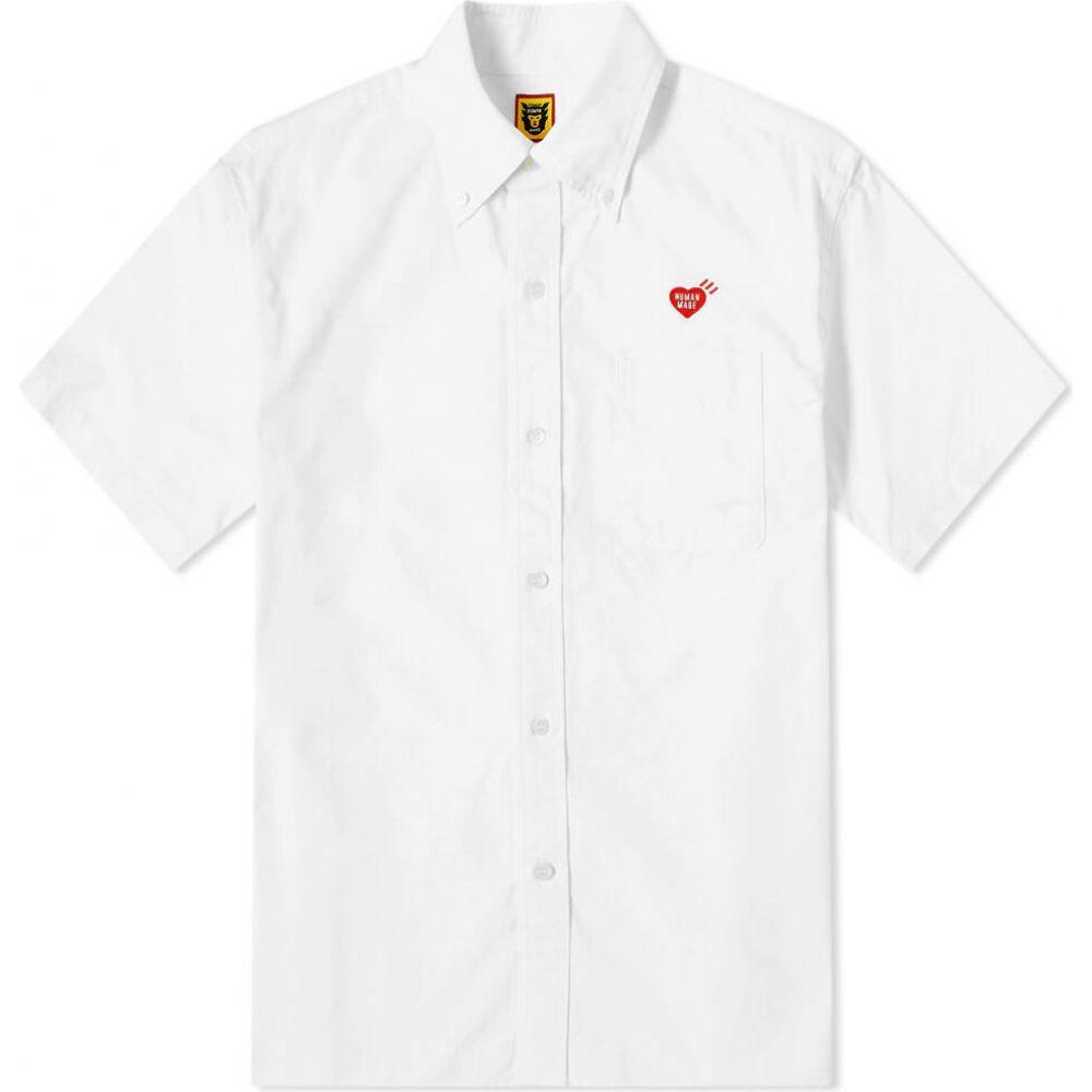 ヒューマンメイド Human Made メンズ 半袖シャツ トップス【short sleeve ripstop shirt】White