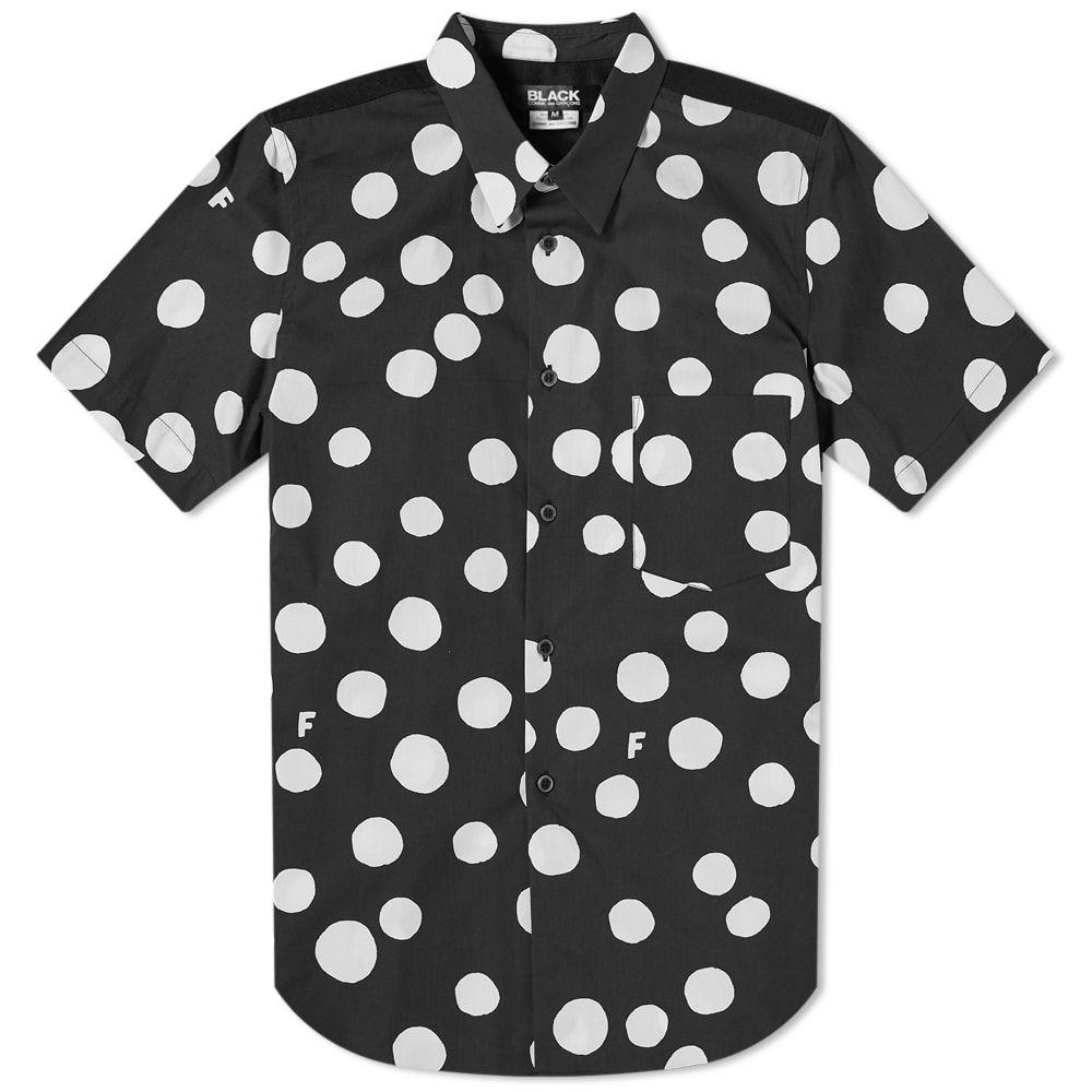 コムデギャルソン Comme des Garcons Black メンズ 半袖シャツ トップス【short sleeve dot shirt】Black