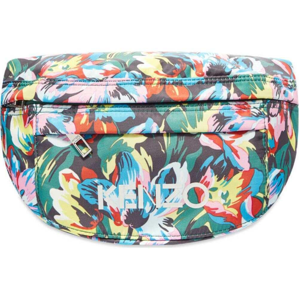 ケンゾー Kenzo メンズ ボディバッグ・ウエストポーチ バッグ【x vans waist bag】Black/Multi