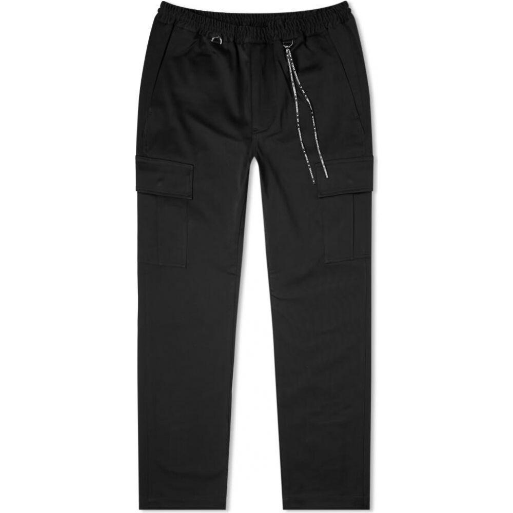マスターマインド MASTERMIND WORLD メンズ カーゴパンツ ボトムス・パンツ【zip cargo pant】Black